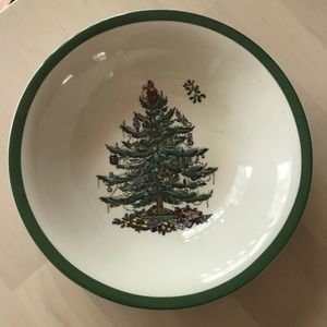 "8"" Christmas Spode Bowl"